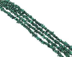 Malachite Free Form 1x8mm-2x10mm