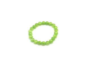 Color Stone Apple Green Bracelet 8Mm