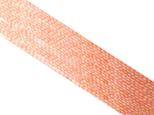 Bamboo Coral Pink Rice 3X6Mm
