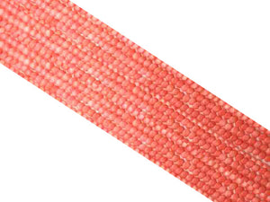 Bamboo Coral Pink Puff Coin 5Mm