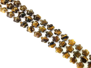 Tiger Eye Flowers 15Mm
