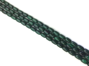 Malachite Barrel 10X14Mm