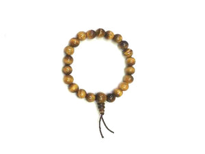 Tiger Eye Mala Bracelet Bracelet 8Mm