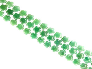 Aventurine Green Flowers 20Mm