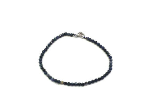 Demoderite Faceted Rounds Bracelet 3Mm