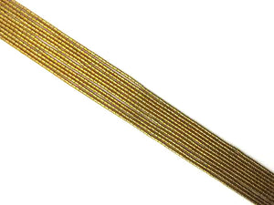 Coated Hematite Gold Tube 2X4Mm