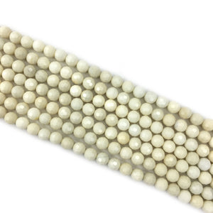 Ivy jade Faceted Beads 6mm