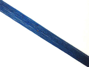 Coated Hematite Blue Tube 2X4Mm