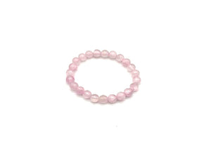 Color Stone Baby Pink Bracelet 8Mm