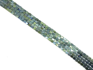 Hematite Green Upright Diamond 4X6Mm