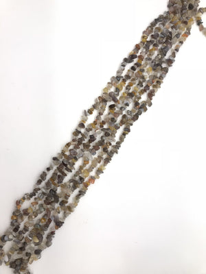 Botswana Agate 36 Inch Chips 5X8Mm