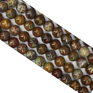 AFRICAN OPAL ROUND BEADS 4mm