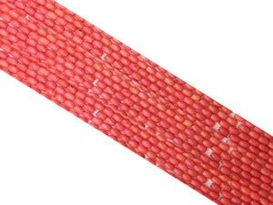Bamboo Coral Pink Barrel 5X7Mm