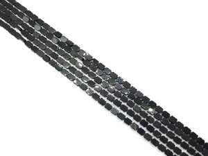 Hematite Black Upright Diamond 4X6Mm