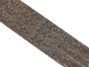 Chocolate Moonstone Super Precision Cut Faceted Rounds 14 Inch