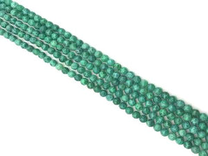 Malachite Green Agate Round Beads 4Mm