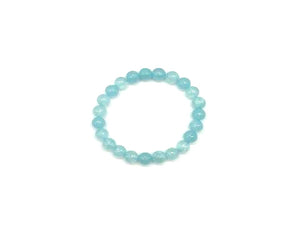 Color Stone Skyblue Bracelet 8Mm