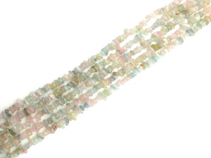 Morganite G1 Chips 16 Inch 5-8Mm