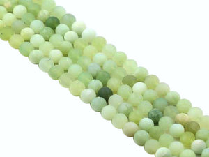Matte Jade New Round Beads 8Mm
