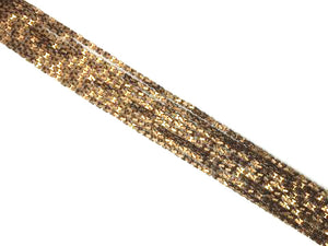 Coated Hematite Anti Gold Arches 2X4Mm