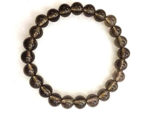 Smokey Quartz Bracelet 8Mm