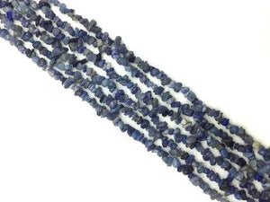 Aventurine Blue 36 Inch Chips 5X8Mm