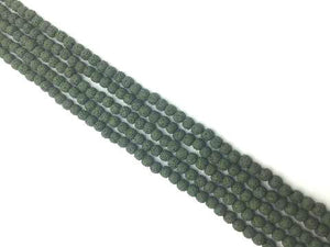 Lava Stone Darkslategray Round Beads 18Mm