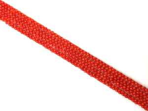 Bamboo Coral Orange Free Form 3X6Mm