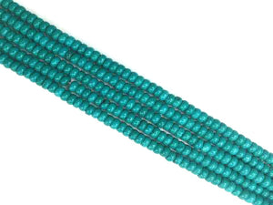 Stabilized Magnesite Green Roundelle 2X4Mm