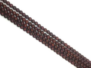 African Rosewood 108 Star Round Beads 8Mm