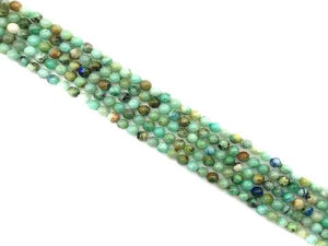 Natural Chrysocolla Round Beads 6Mm