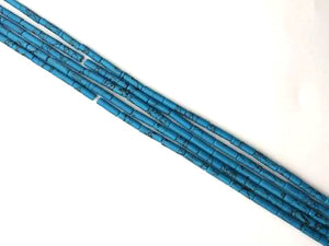Blue Magnesite Tube 4X13Mm