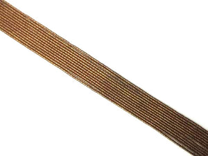Coated Hematite Anti Gold Tube 2X4Mm