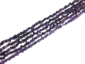 Amethyst G1 Chips 16 Inch 5-8Mm