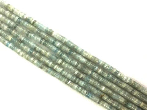 Aquamarine Heishi 1.5X7Mm