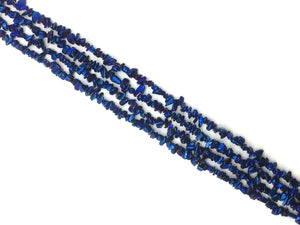 Coated Hematite Blue 16 Inch Chips 5-8Mm