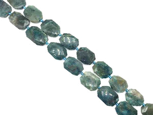 Chrysocolla Faceted Free Form 20-40Mm