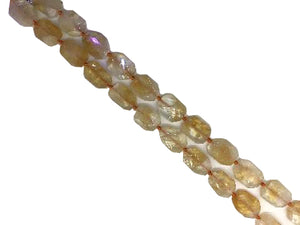 Citrine Faceted Free Form 20-40Mm