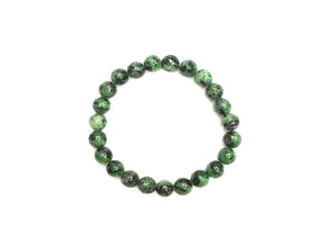 Ruby Zoisite Bracelet 8Mm