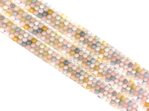 Morganite G2 Round Beads 4Mm