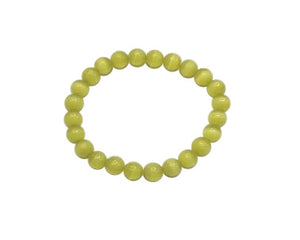 Artificial Opal Citrine Bracelet 8Mm