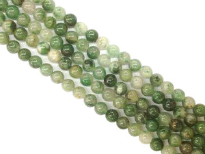 African Green Calcedong Jade Round Beads 8Mm