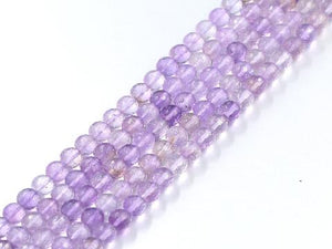 Ametrine Faceted Rounds 8Mm
