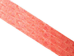 Bamboo Coral Pink Free Form 3X6Mm