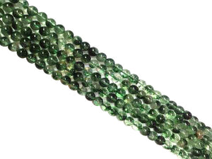 Color Crystal Quartz Green Round Beads 14Mm