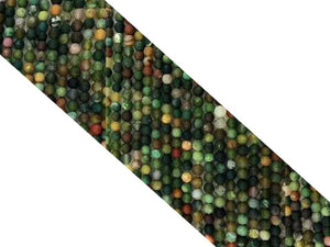 Matte Fancy Jasper Round Beads 10Mm