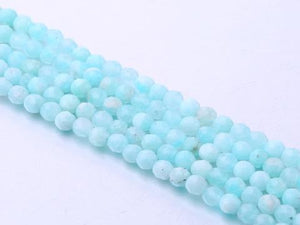 Russian Amazonite Super Precision Cut Faceted Rounds 3Mm