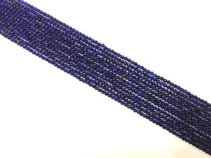 Color Jade Royalblue Round Beads 2Mm