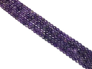 Amethyst Faceted Rounds 12Mm