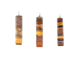 Tiger Eye Pendant 12X52Mm